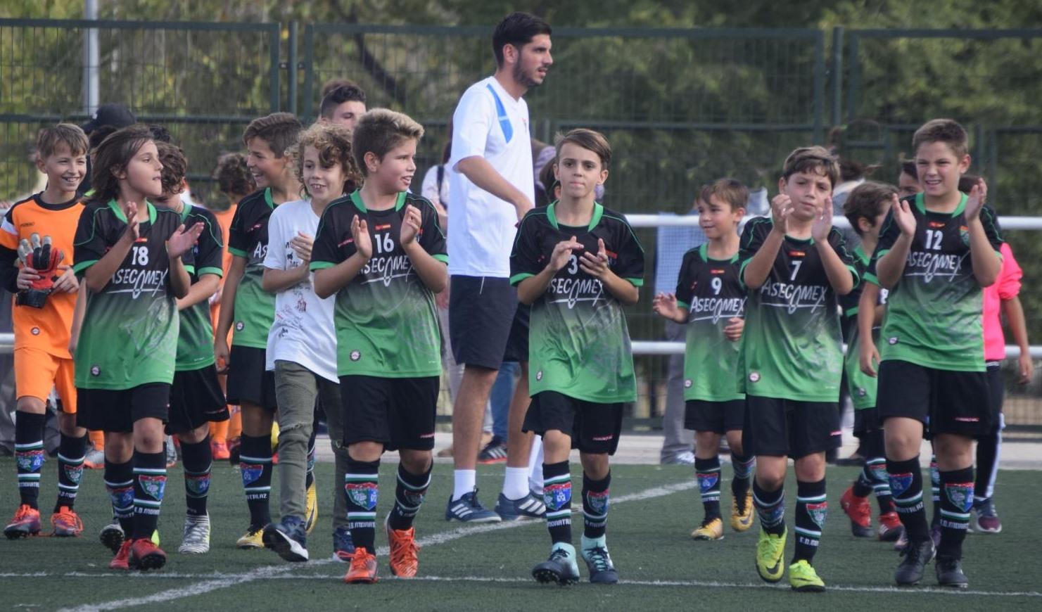 Crónica del partido Alevín C 5-0 ADEPO Palomeras B