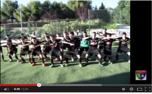 Vídeo protagonizado por los jugadores del Alevín A para despedir la temporada