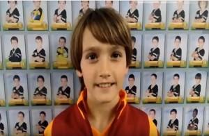 Íñigo Sustacha, jugador del Alevín C