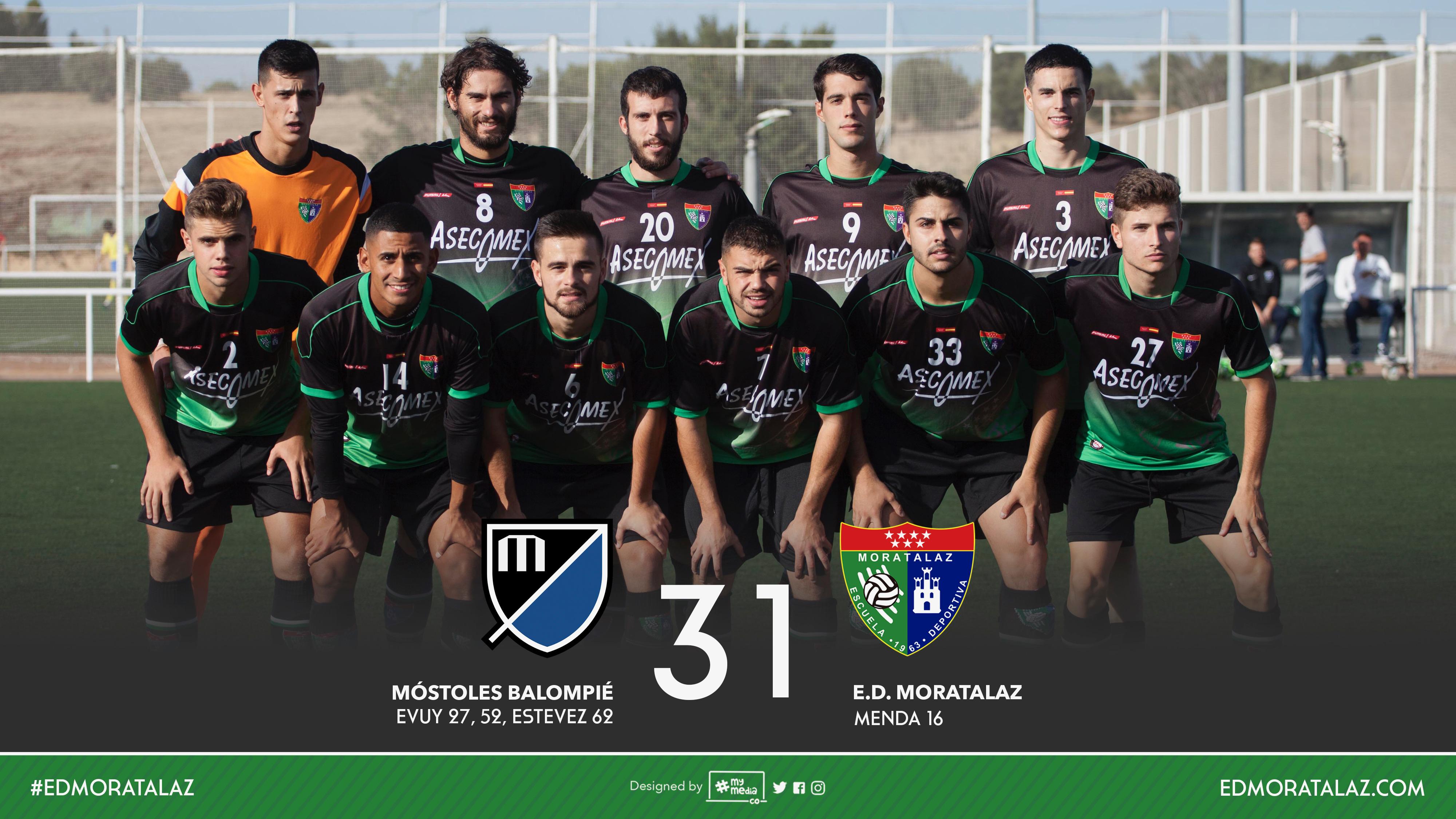 Fotos y vídeo resumen del partido Mostoles Balompié 3-1 Primer Equipo