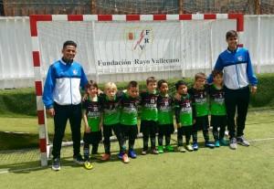 Foto del Chupetin B -Fundación Rayo Vallecano B