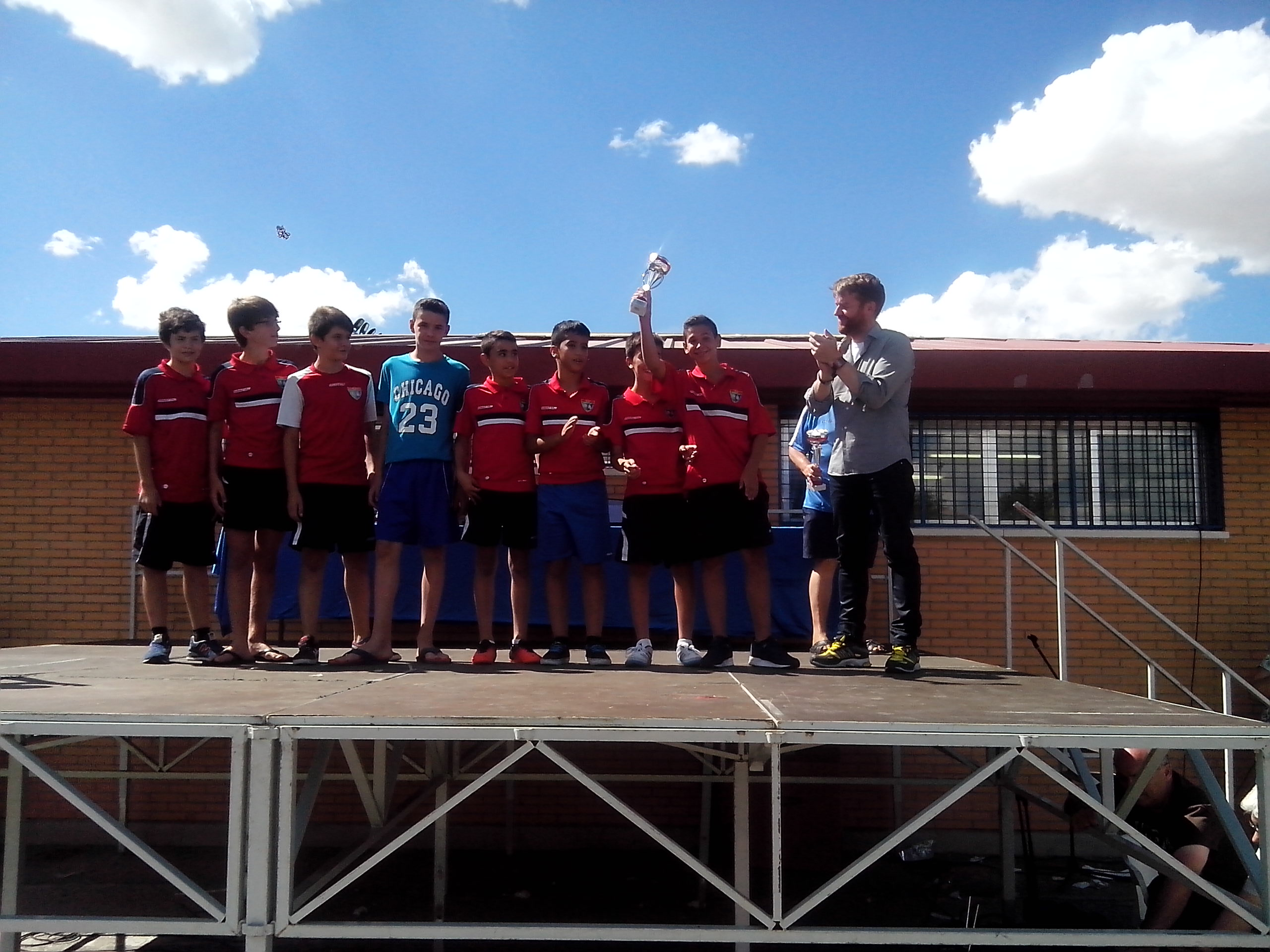 El Infantil A quedó cuarto en el trofeo Juanito, en Fuenlabrada