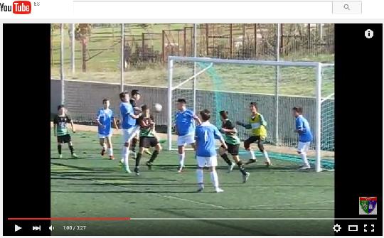Vídeo con los goles del partido de liga CD Vicálvaro B 0 – 3 EDM Infantil B