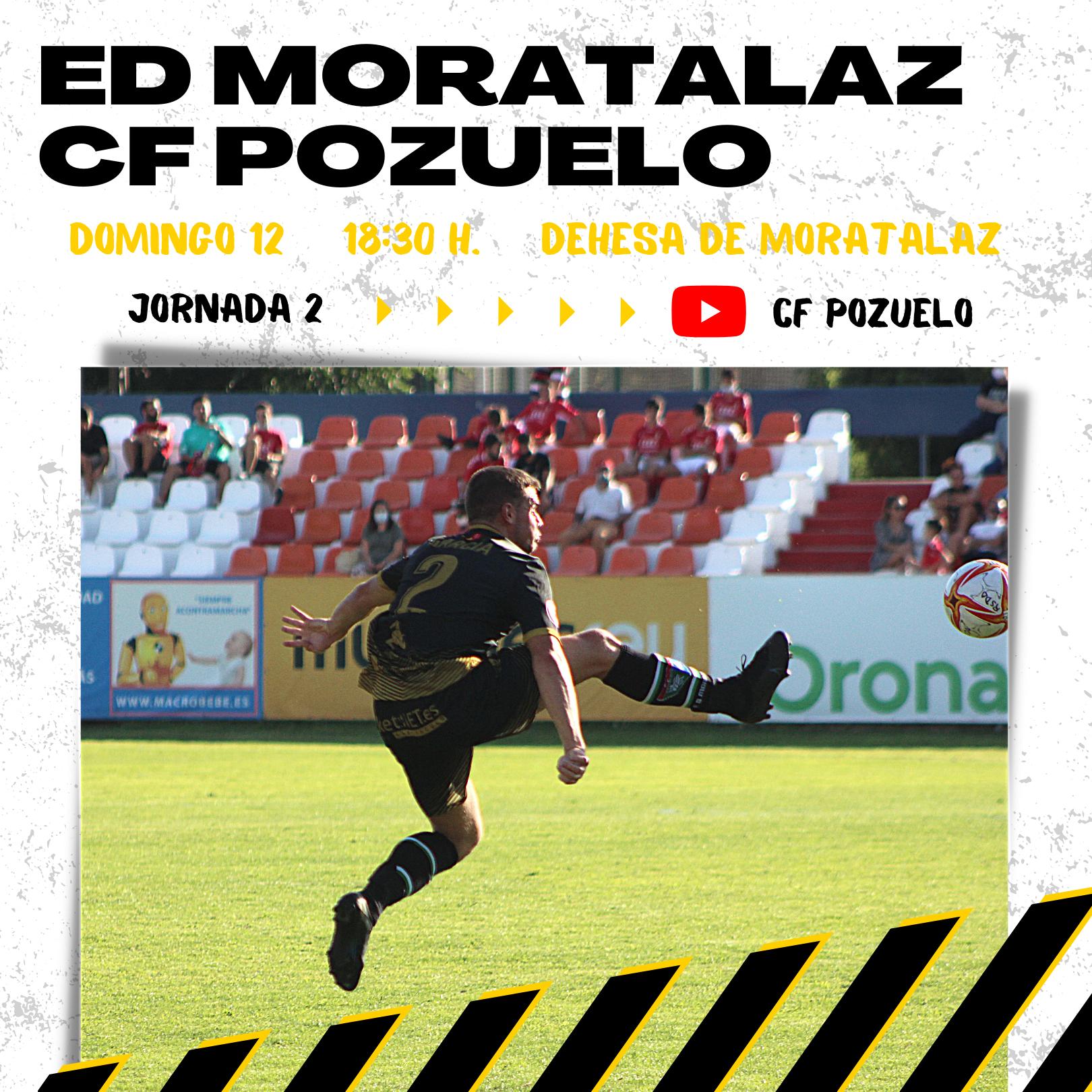 El Primer Equipo recibe al CF Pozuelo el domingo a las 18:30