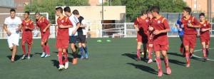 El juvenil F comienza la temporada 2016/2017