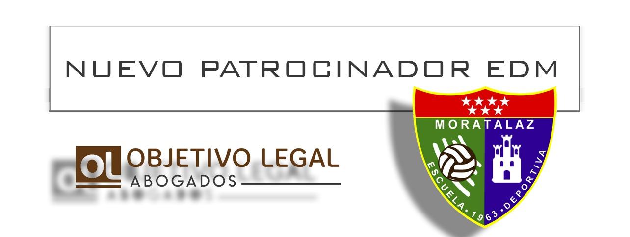 Anuncio de Objetivo Legal Abogados  Patrocinador de ala Escuela