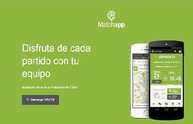 Matchapp, una aplicación gratuita para tener a mano toda la información de tus equipos preferidos