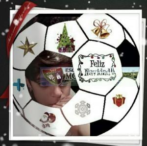 miguel blanco para el álbum la EDM y la Navidad