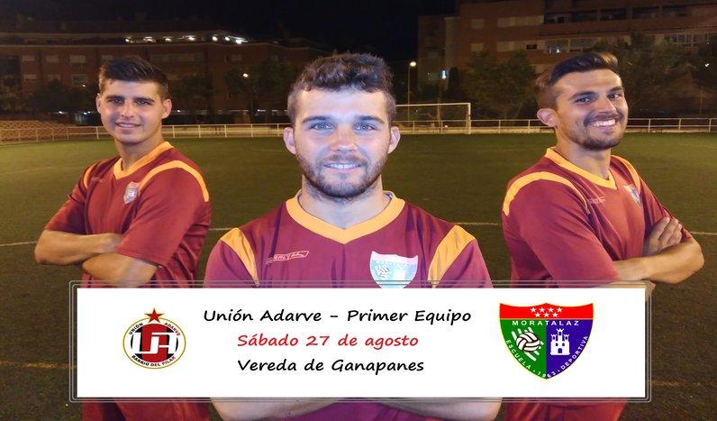 El Primer Equipo juega hoy un triangular contra el Unión Adarve