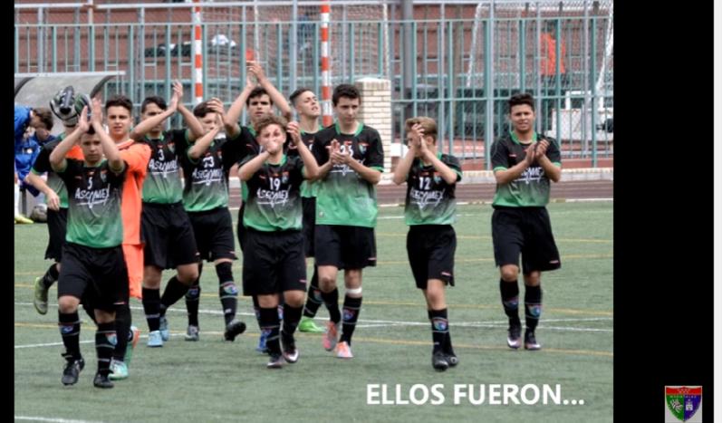 Vídeo homenaje a jugadores y técnicos del Cadete C