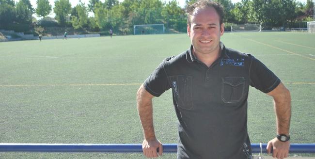 """Jorge Vallejo, nuevo técnico del Aficionado A: """"Mi reto es poner a la Escuela donde se merece en el fútbol madrileño"""""""