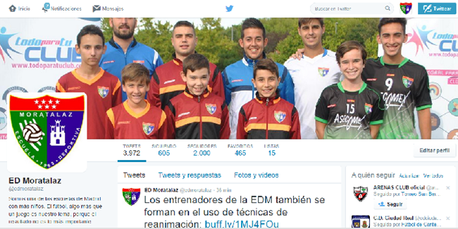 Las redes sociales de la EDM ya son las más influyentes del mundo entre las escuelas de fútbol