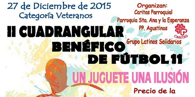 Un equipo de veteranos de la EDM participará en la segunda edición del Cuadrangular Benéfico Fútbol 11