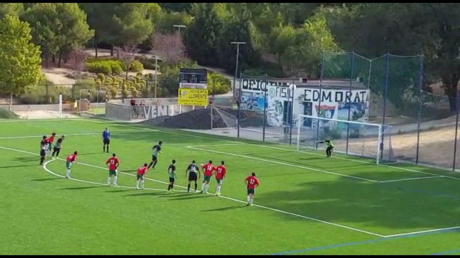 Crónica y fotos del partido de liga EDM Cadete A 3 – 2 CF Pozuelo de Alarcón A