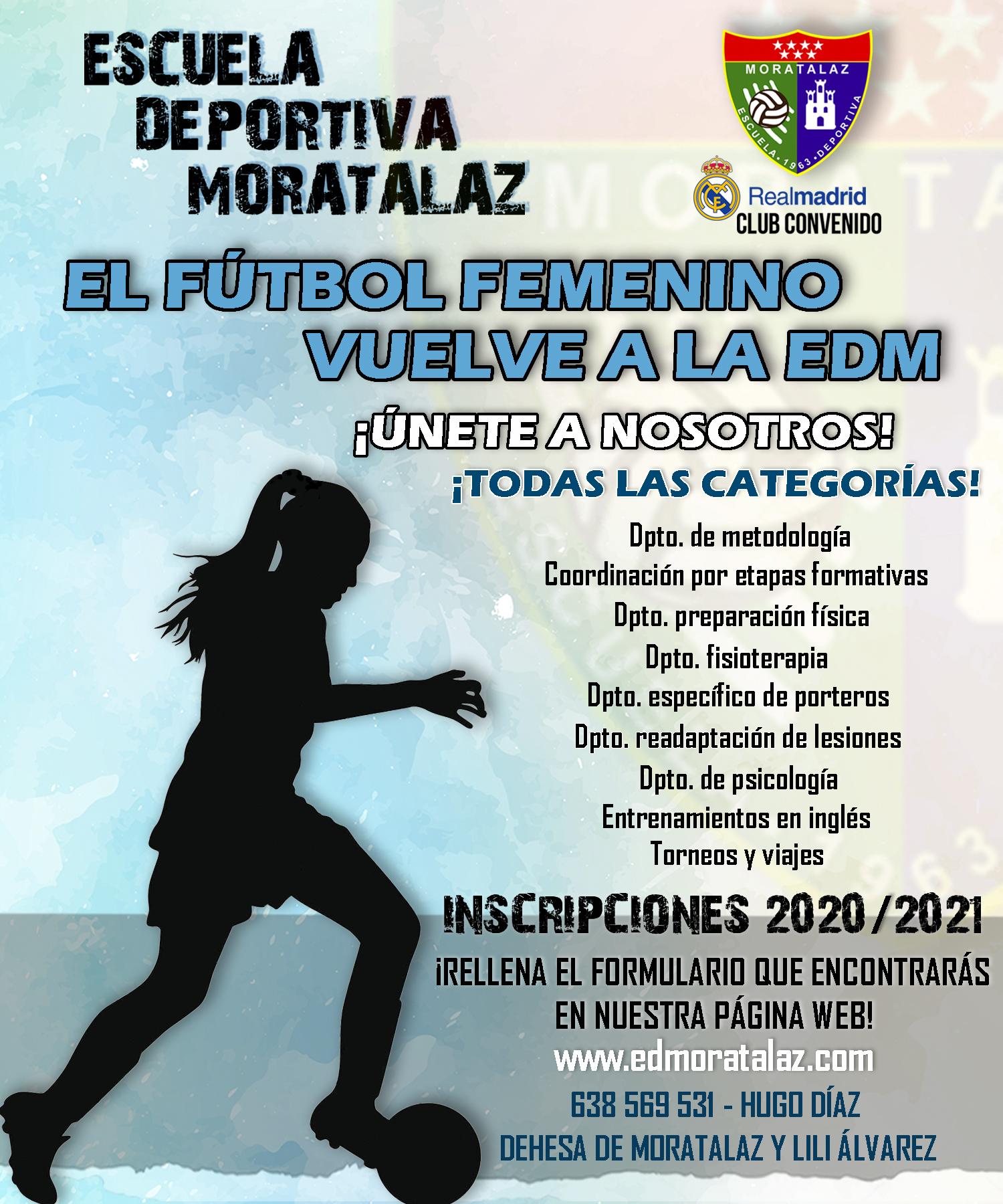 ¡El fútbol femenino vuelve a la EDM!