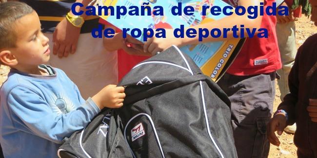 Campaña de recogida de ropa deportiva del 19 al 23 de octubre