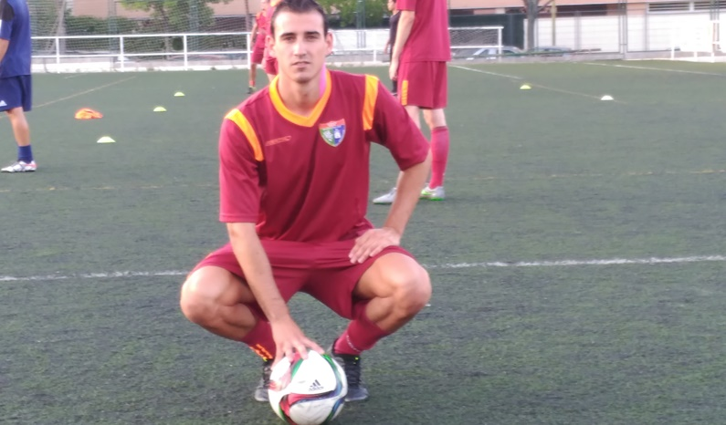 Jorge Díaz, central del Sanse B, se incorpora al Primer Equipo