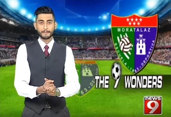Reportaje en la televisión India sobre la ED Moratalaz