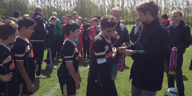El Infantil B fue finalista en el torneo de Copenhague y decorosa actuación del Alevín C