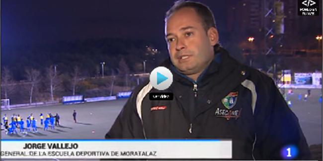 La EDM protagoniza una información del Telediario de TVE1 sobre los posibles cambios en la fiscalidad del fútbol base