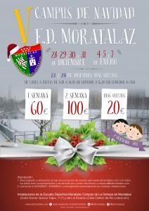 cartel campus de navidad