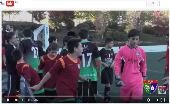 Reportaje en vídeo del partido de liga EDM Infantil D 0 – 0 Atlético Loeches