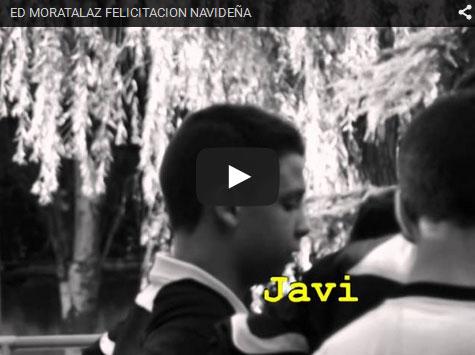 Vídeo elaborado por el Infantil A para felicitar la Navidad y Año Nuevo a todos