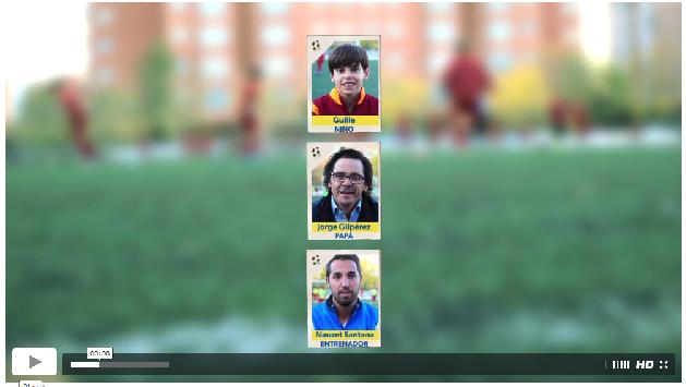 """Videoreportaje """"¿Dónde nacen los cracks del fútbol?"""", en el que los protagonistas son miembros de la EDM"""