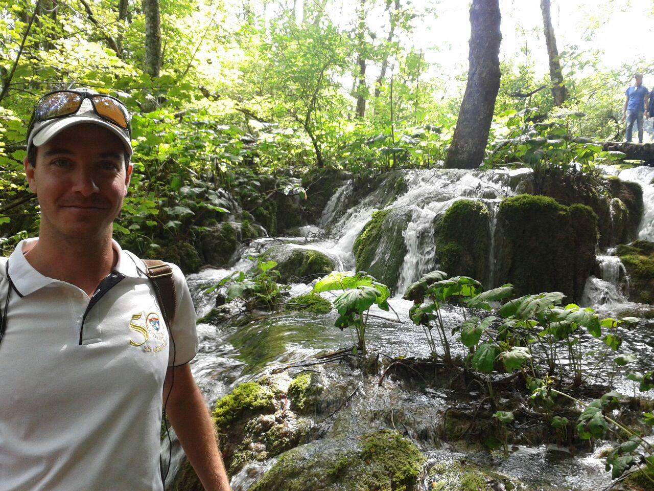 Villalba nos envía otra foto, desde los lagos croatas de Plitvice, en la EDM por el mundo